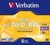 Фото товара DVD+RW Verbatim Hardcoat 4.7Gb 4x (5 Pack Jewel Case) (43565)