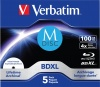 Фото товара BD-R XL Verbatim 100Gb 4x Printable M-Disc (5 Pack Jewel Case) (43834)
