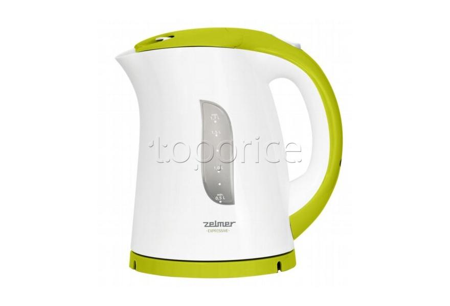 Zelmer zck0279w - это чайник, который обладает рядом таких полезных качеств как, к примеру, индикацией работы