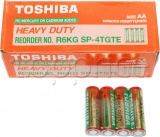 Фото Батарейки Toshiba Heavy Duty AA/R6 Box 4шт (R6KG SP-4TGTEG)