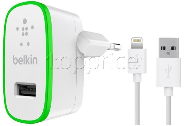 Фото З/У USB Belkin USB Home Charger White (F8J125vf04-WHT)