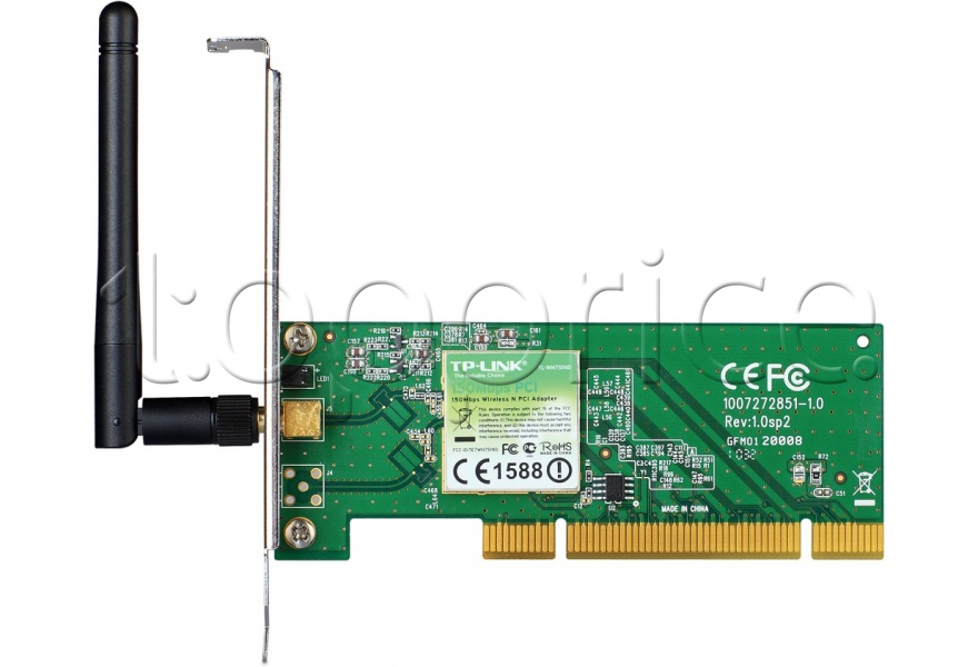 Фото WiFi-адаптер PCI TP-Link TL-WN751ND 802.11n