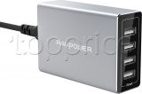 Фото Сетевое З/У RavPower 40W 4xUSB Porsche Design (RP-PC030)