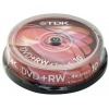 Фото товара DVD+RW TDK 4.7Gb 4x (10 Pack Cakebox)