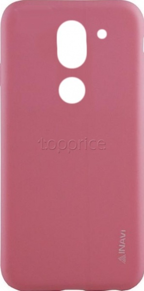 Фото Чехол для Honor 6X/Huawei GR5 2017 Inavi Simple Color Silicon Cover Pink