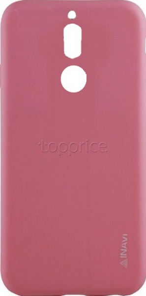 Фото Чехол для Huawei Mate 10 Lite Inavi Simple Color Silicon Cover Pink