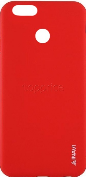 Фото Чехол для Huawei Nova 2 Inavi Simple Color Silicon Cover Red