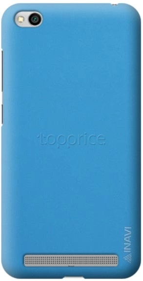 Фото Чехол для Xiaomi Redmi 5A Inavi Simple Color Silicon Cover Light Blue