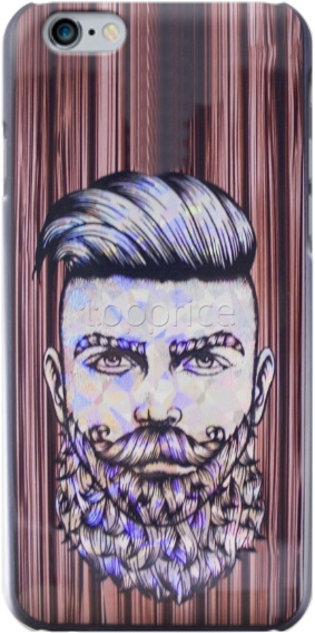 Фото Чехол для iPhone 6 Barber Silicon Cover 04