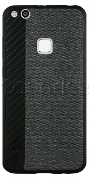 Фото Чехол для Huawei P10 Lite Inavi Canvas Silicon Cover Black