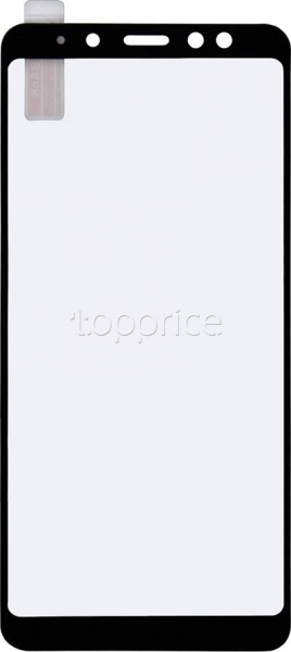 Фото Защитное стекло для Samsung Galaxy J6 Plus 2018 J610 Devicecom (NP) Full screen (тех.пак) Black