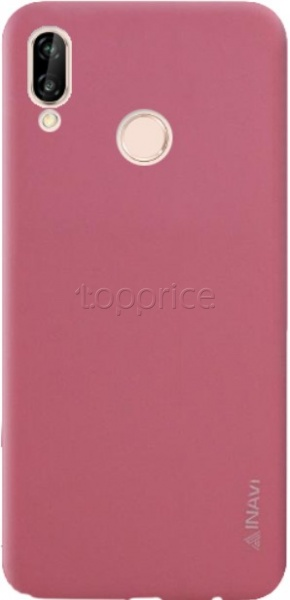 Фото Чехол для Huawei P20 Lite Inavi Simple Color Silicon Cover Pink