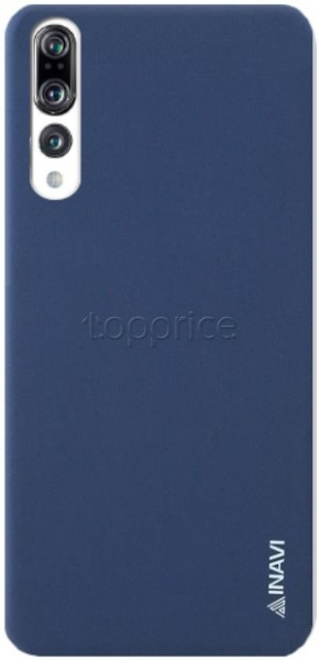 Фото Чехол для Huawei P20 Pro Inavi Simple Color Silicon Cover Dark Blue