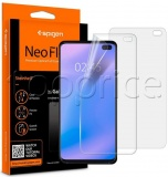 Фото Защитная пленка Spigen для Samsung Galaxy S10+ Film Neo Flex HD (Front 2) (606FL25695)
