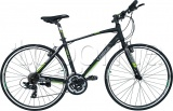 Фото Велосипед Trinx Free 1.0 Matt Black/Grey/Green 700Cх470