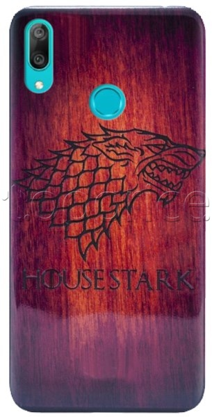 Фото Чехол для Huawei Y7 2019 Wooden Varnish Silicon Case HouseStark