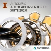 Фото товара Autodesk AutoCAD Inventor LT Suite 2020 Commercial New Single-user EL (596L1-WW8695-T548)