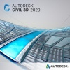 Фото товара Autodesk Civil 3D 2020 Commercial New Single-user ELD 3Y Subscription (237L1-WW3033-T744)