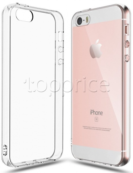 Фото Чехол для iPhone 5/SE Laudtec Clear TPU Transperent (LC-IP5SET)