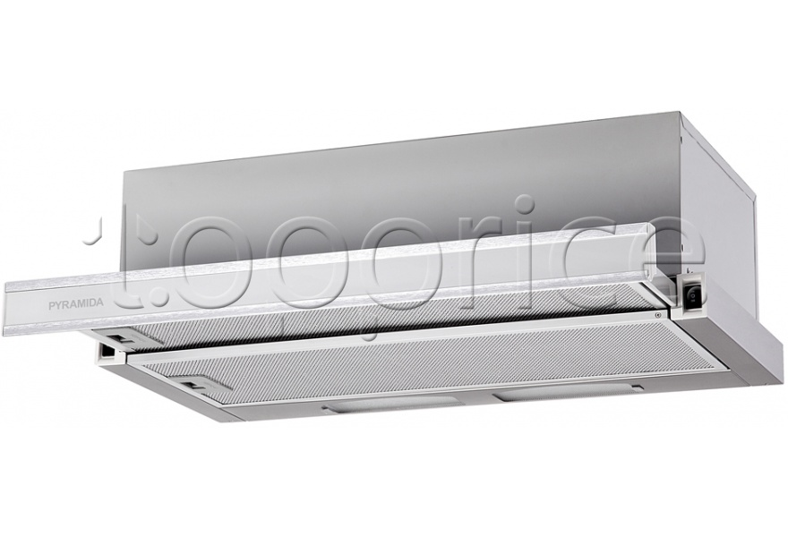 Фото Вытяжка Pyramida TL 60 Inox Glass White