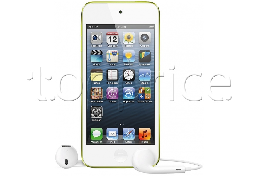 Фото MP3 плеер 64Gb Apple iPod touch 5Gen Yellow (MD715RP/A)