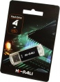 Фото USB флеш накопитель 4GB Hi-Rali Rocket Series Black (HI-4GBVCBK)