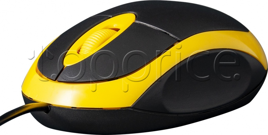 Фото Мышь Frime FM-001BY Black/Yellow USB