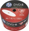 Фото товара DVD+R HP 4.7Gb 16x IJ Print (50 Pack Cakebox) (69302/DME00070WIP-3)