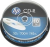 Фото товара CD-R HP 700Mb 52x (10 Pack Spindle) (69308/CRE00019-3)