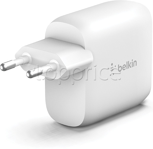 Фото Сетевое З/У Dual USB Belkin Home Charger White (WCB002VFWH)