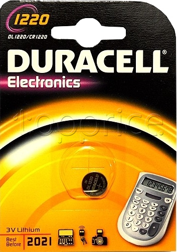 Фото Батарейка Duracell DL1220/CR1220