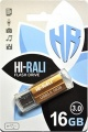Фото USB флеш накопитель 16GB Hi-Rali Corsair Series Gold (HI-16GB3CORGD)