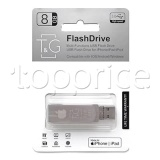 Фото Lightning/USB флеш накопитель 8GB T&G 007 Metal Series (TG007IOS-8G3)