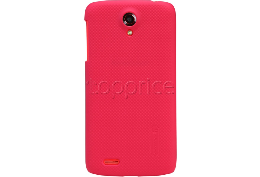 Фото Чехол для Lenovo S880 Nillkin Super Frosted Shield Red