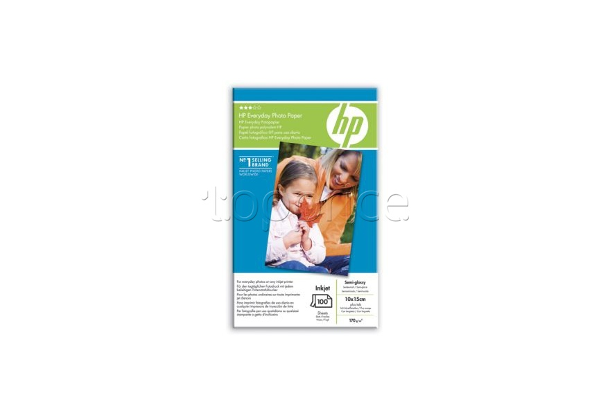 Фото Бумага HP 10x15cm Everyday Photo Paper semi-glossy, 100л. (Q5441A)