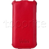 Фото Чехол для Samsung Galaxy Star Advance G350 Vellini Lux-flip Red (218634)