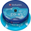 Фото товара CD-R Verbatim Extra 700Mb 52x (25 Pack Cakebox) (43432)