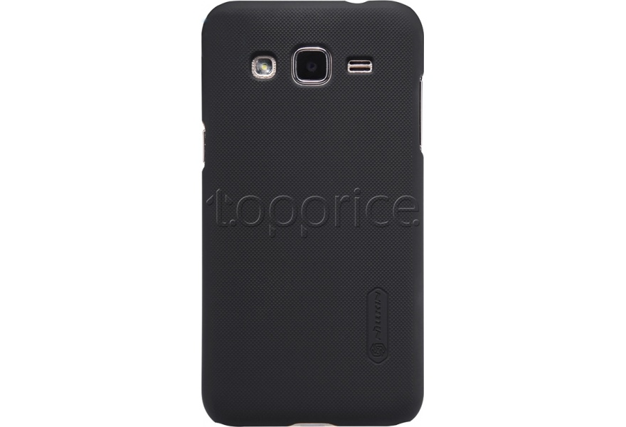 Фото Чехол для Samsung Galaxy J2 J200 Nillkin Super Frosted Shield Black