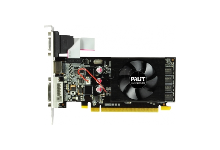 Фото Видеокарта PCI-E  2Gb GeForce GT610 (DDR3) Palit (NEAT6100HD46-1196F)