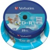 Фото товара CD-R Verbatim Printable 700Mb 52x (25 Pack Cakebox) (43439)
