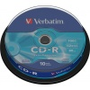 Фото товара CD-R Verbatim Extra 700Mb 52x (10 Pack Cakebox) (43437)