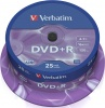 Фото товара DVD+R Verbatim Matt Silver 4.7Gb 16x (25 Pack Cakebox) (43500)