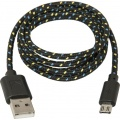 Фото Кабель USB2.0 AM -> micro-USB Defender USB08-03T 1 м (87474)