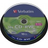 Фото товара CD-RW Verbatim 700Mb 12x (10 Pack Spindle) (43480)