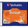 Фото товара DVD-R Verbatim 4.7Gb 16x Slim 1 pcs (43547)