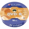 Фото товара DVD-R Verbatim 4.7Gb 16x Data Life (Tape Wrap 10 pcs) (43839)