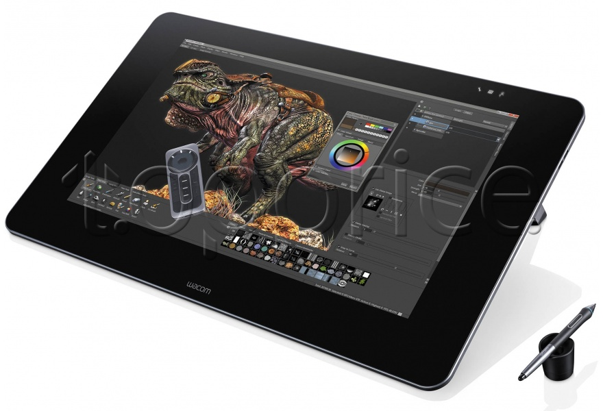Фото Графический планшет Wacom Cintiq 27QHD touch Interactive Display (DTH-2700)