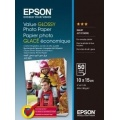 Фото Бумага Epson 100mmx150mm Value Glossy Photo Paper 50л. (C13S400038)