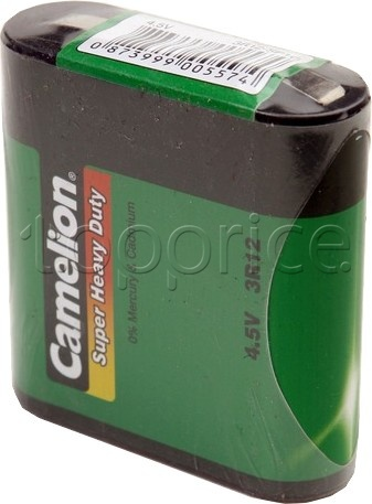 Фото Батарейки Camelion Super Heavy Duty Green 3R12 (3R12-SP1G) 1 шт