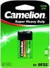 Фото товара Батарейки Camelion Super Heavy Duty Green Krona/6F22 (6F22-BP1G) 1 шт